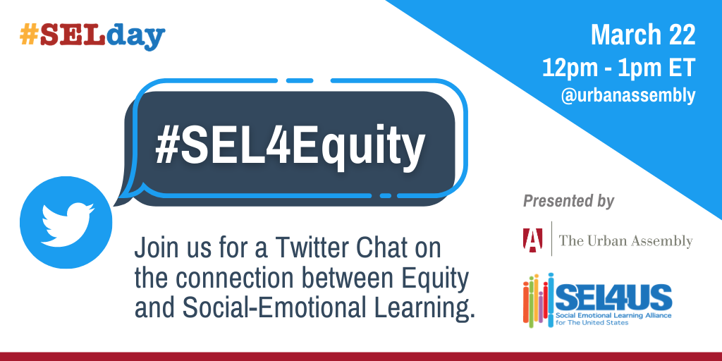 #SEL4Equity Twitter Chat